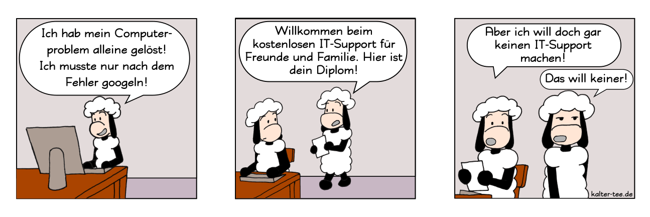 Comic it support googeln